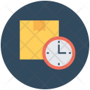 Delivery Time Schedule Icon