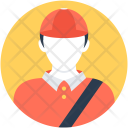 Delivery Boy Pizza Icon