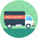 Delivery Van Truck Icon