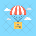 Delivery Balloon Air Icon