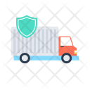 Delivery Secure Security Icon