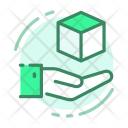 Box Hand Shipping Icon