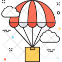 Delivery Logistics Air Icon