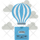 Delivery Delivery Balloon Air Logistic Icon