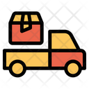 Delivery Truck Shipping Box Icon