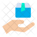 Hand Package Box Package Icon