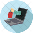 Delivery Online Laptop Icon