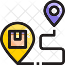 Location Delivery Address Destination Icon