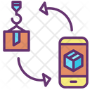 Delivery Application Mobile Application Package Icon