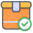 Delivery Approved Delivery Box Icon