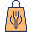 Delivery Bag Fast Food Food Icon