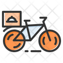 Delivery Bicycle Icon