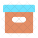Delivery Box Courier Parcel Icon