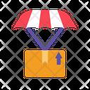 Delivery Parachute Box Icon