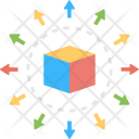 Cubic Box Delivery Icon
