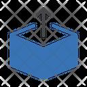 Delivery Box Parcel Carton Icon