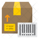 Delivery Box Barcode Barcode Bar Code Icon