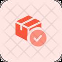 Delivery Box Checklist Icon