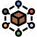 Delivery Box Connection Icon