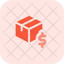 Delivery Box Dollar Box Dollar Package Money Icon
