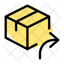 Delivery Box Forward Archive Box Forward Send Parcel Icon