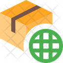 Delivery Box Globe World Delivery World Parcel Icon