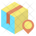 Delivery Box Location Icon