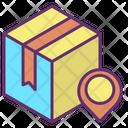 Delivery Box Location Icon