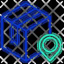 Mlogistics Map Pin Delivery Box Location Pracel Location Icon