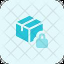 Delivery Box Lock Icon