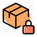 Delivery Box Lock Archive Box Lock Package Lock Icon