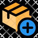 Delivery Box Plus Box Plus Add Parcel Icon