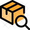 Delivery Box Search Search Parcel Search Delivery Icon