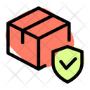 Delivery Box Shield Archive Box Shield Secure Delivery Icon