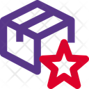 Delivery Box Star Archive Box Star Favorite Package Icon