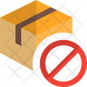 Delivery Box Stop Icon