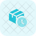 Delivery Box Time Icon