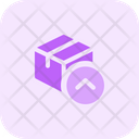 Delivery Box Up Icon