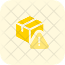 Delivery Box Warning Delivery Alert Delivery Warming Icon