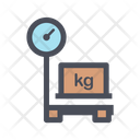 Delivery Box Weight Icon