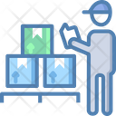 Courier Man Delivery Man Delivery Boy Icon