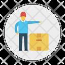 Box Carton Parcel Icon