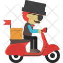 Delivery Boy Icon