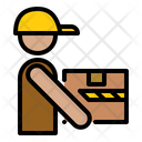Carry Delivery Logistics Icon