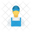Delivery Boy Avatar Male Icon