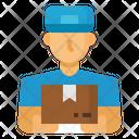 Delivery Man Door Icon