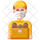 Delivery Food Mask Icon