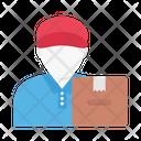 Deliveryboy Parcel Delivery Icon