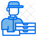 Delivery Man Delivery Man Icon