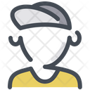 Courier Delivery Man Driver Icon